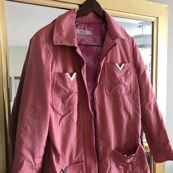 RED Valentino Jackets & Blazers - VALENTINO RED - raincoat